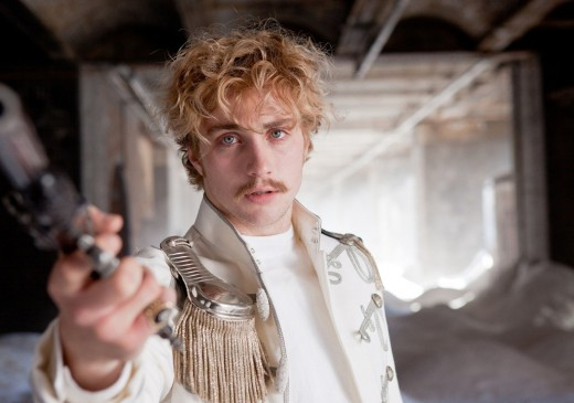 Aaron Johnson as Count Vronsky