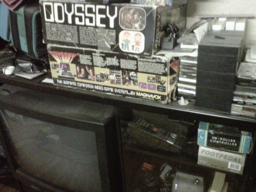 Your Magnavox Odyssey or Atari 2600 will look pretty weird on a flat screen.  That is, if you can even find an adapter to make it work.