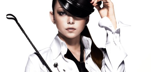"Namie Amuro promoting her seventh album, ""PLAY""."