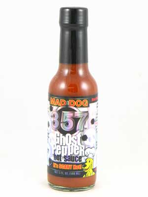One of many Ghost pepper hot sauces to purchase online.