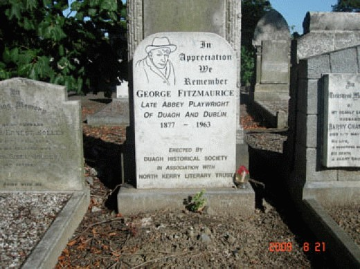 Resting place of George Fitzmauruce.