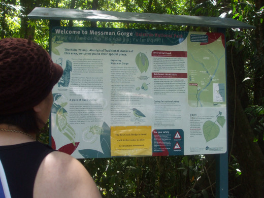 Welcome to Mossman Gorge