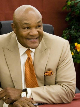 George Foreman, 2 time Boxing Heavy Weight Champion and American Entrepreneur