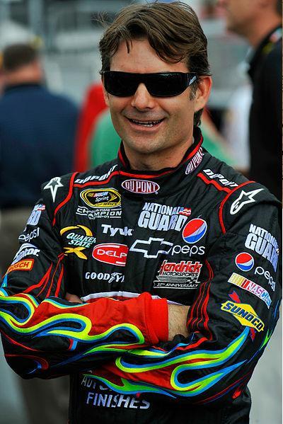Jeff Gordon, 4 time NASCAR Winston Cup Champion