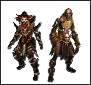 Witch Doctors in Diablo 3