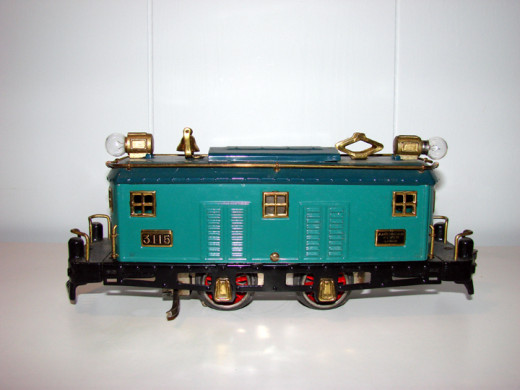 Toy trains can look real, but are not close to the prototype