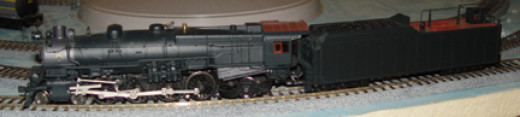 This HO Scale M1 Class locomotive has amazing detail