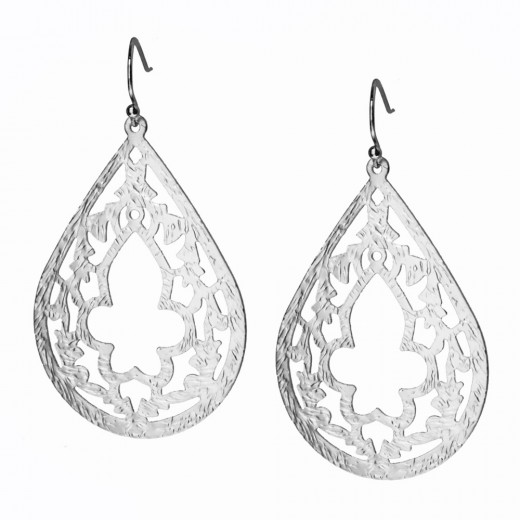 Silver Indie Style Earrings