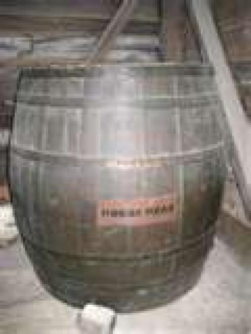 Hogshead - A unit of measurement, mostly for liquids.