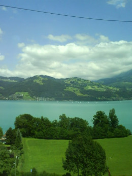 lake of spiez