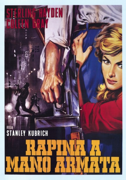 The Killing (1956) Italian poster