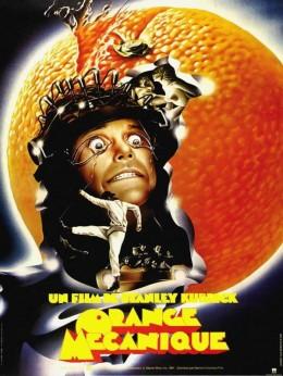 A Clockwork Orange (1971) French poster