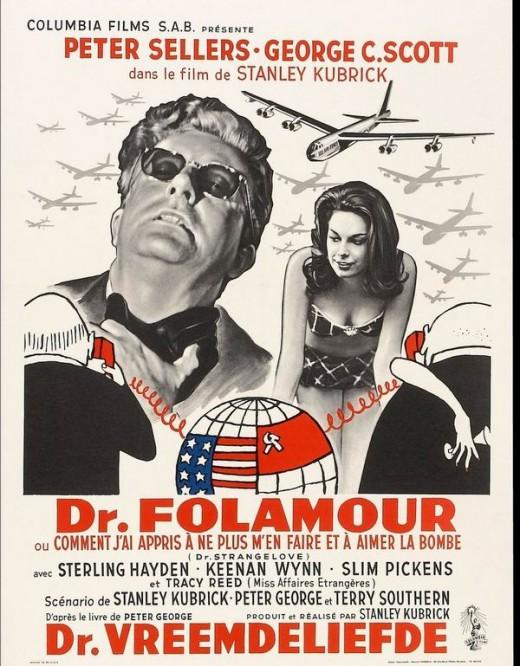 Dr. Strangelove (1964) Belgium poster