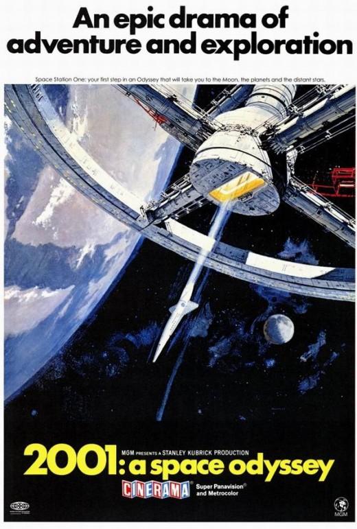 2001: A Space Odyssey (1968) art by Robert McCall