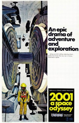 2001 A Space Odyssey (1968) art by Robert McCall