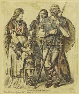 Ancient Germanic Warriors