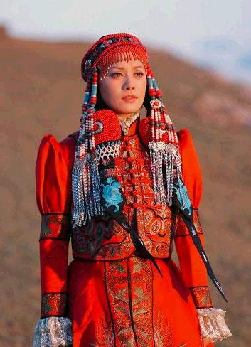 Ordos Mongolian robe