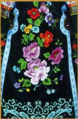 Mongolian embroidery