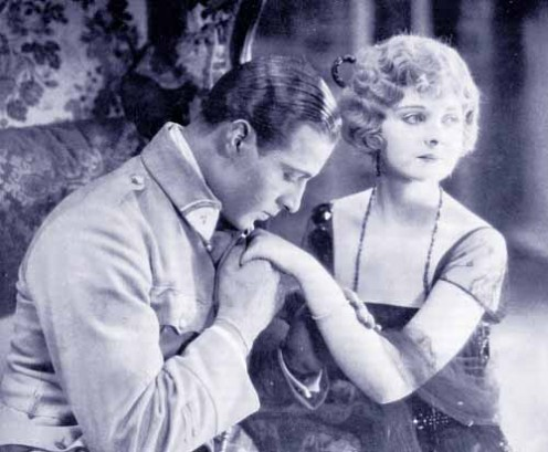 Rudolph Valentino and Alice  Terry
