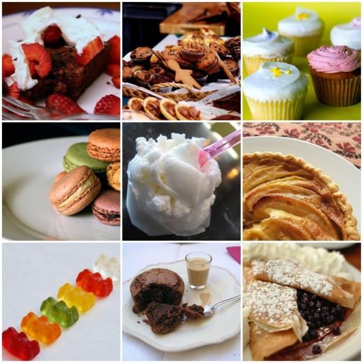 Desserts have always been children's favorites.