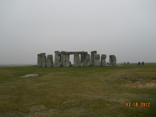 Stonehenge: As cheery a pre-historic burial ground as you'll ever see.
