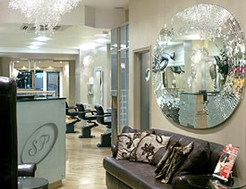 Stuart Phillips' Salon opened in 1995.  It is situated in the upscale Covent Garden.