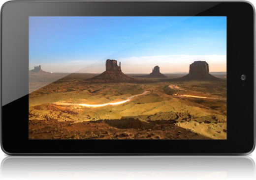 The Nexus 7 offers the best display $199 can buy.