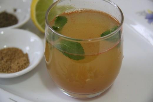 Spicy soda drink!