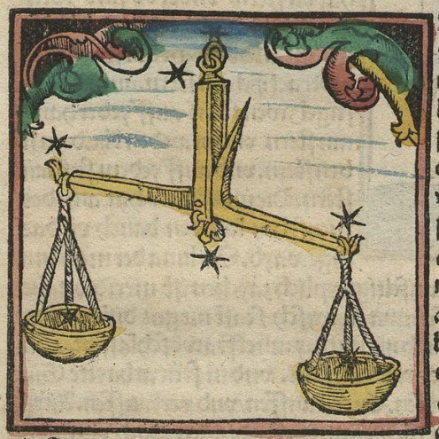 Libra's symbol is the scales which is why it is the priority of a Libra Sun Sign to have harmony in his or her life.