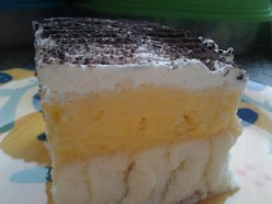 Vanilla Pudding Cake
