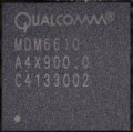 The Qualcomm baseband chipset in iPhone 4S which also makes use of its own RAM