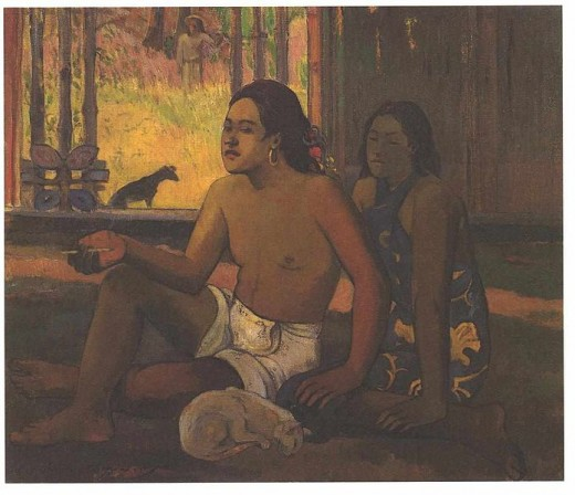 "Paul Gaugin's ""Not to Work"" was painted in 1896."
