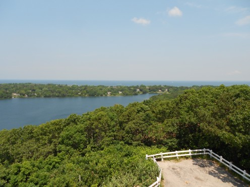 Taken from the top of Scargo Tower in Dennis. You can see the tower in P-town from here on a clear day.