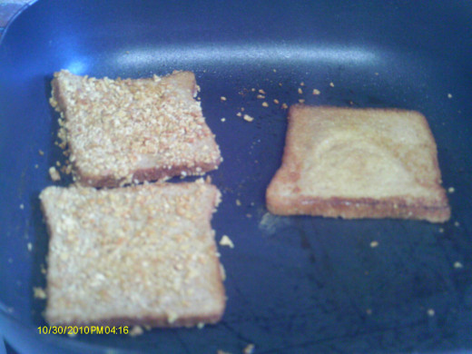 Watch the toast carefully so the cereal does not scorch.   Enjoy with your favorite topping.