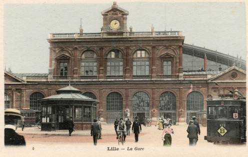Lille, France, vintage postcard No. 4