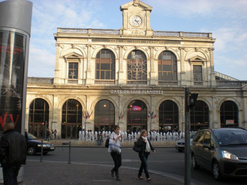 Lille-Flanders station frontage