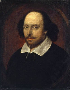 Portrait of William Shakespeare, the most prolific writer of the English Renaissance.