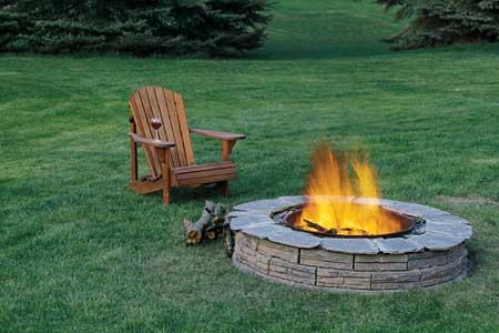 Farrel admits burning them in a fire pit.