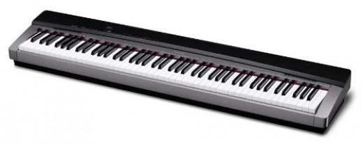 The Casio Privia PX-130 is an affordable alternative to a real piano for serious piano students