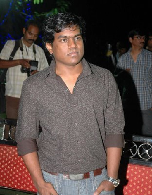 Yuvan Shankar Raja, Music Director of Billa II.  Also makes an appearance in the movie.