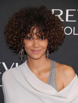 Halle Berry looking less than her 40+ years.