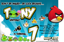 Party Themes - Angry Birds