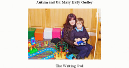 Me and my son at his Early Intervention class. www.killahanautismunit.com