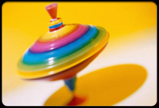 Spinning tops are often a particularly favored toy
