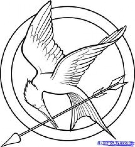 hunger games coloring pages printable - photo#1