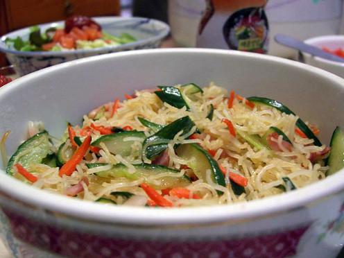 Stir-fry with Rice Sticks