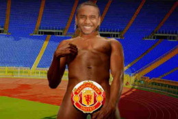 Manchester United Player Anderson. picture setup. mirror.co.uk