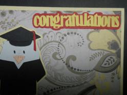 Congratulations layers adhered