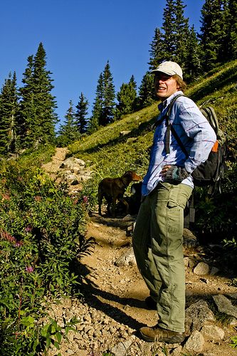 Going out for a hike with someone who has a great amount of knowledge will quickly increase your skills