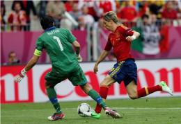 Torres and Buffon